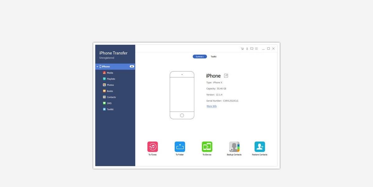 Apeaksoft-iPhone-Transfer